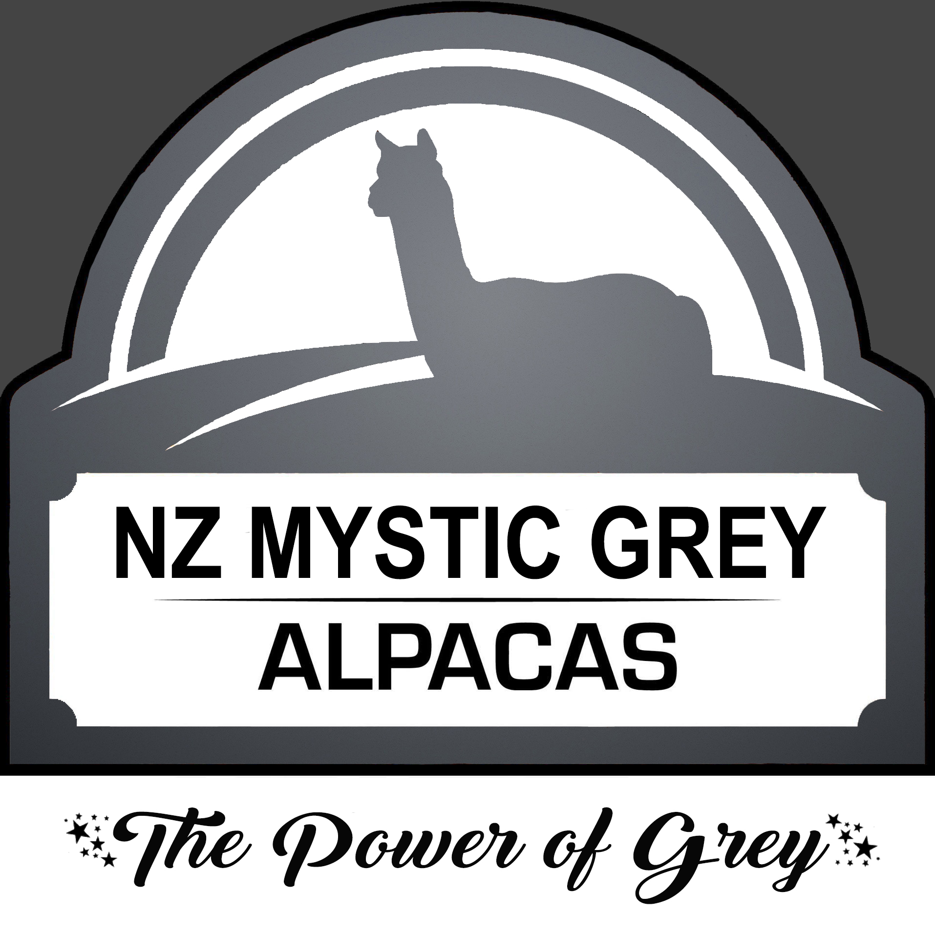 NZ MAJESTIC GREY LOGO